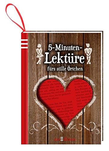 Preisvergleich Produktbild 5-Minuten-Lektüre: fürs stille Örtchen