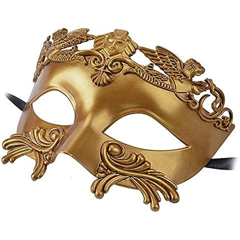 PROP FC-Maschera in stile romano, Il gladiatore balli in maschera, Halloween, multicolore
