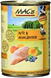 Mac's Pute & Heidelbeeren, 6er Pack (6 x 400 g)