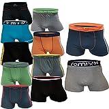 5 10 Stück Boxershorts Jungen Unterhosen Unterwäsche Kinder (Gr.XXXL - Alter: 16-18 (174-180), 10.Stück)
