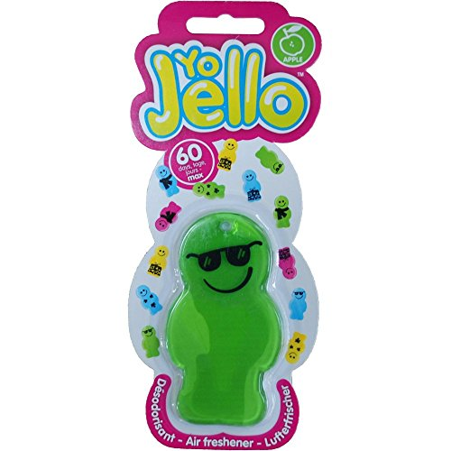 yo-jello-apple-aroma-car-air-freshener-only-one-pp-charge-per-aerialballs-order-save-money-by-buying