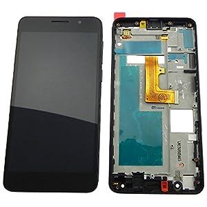 Huawei Honor 6 Display LCD Premium Touchscreen Glas Komplett-Einheit mit Rahmen Schwarz - ToKa-Versand®