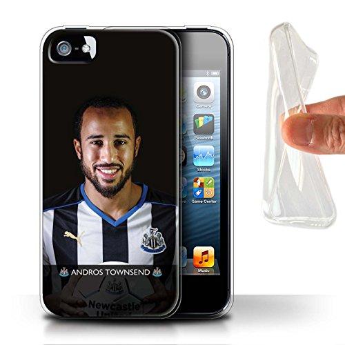 Offiziell Newcastle United FC Hülle / Gel TPU Case für Apple iPhone 5/5S / Pack 25pcs Muster / NUFC Fussballspieler 15/16 Kollektion Townsend