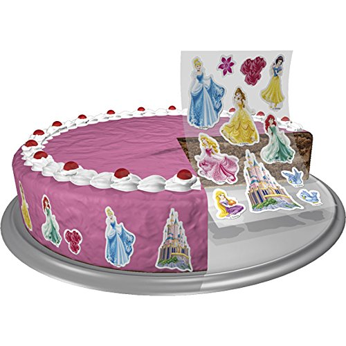 Preisvergleich Produktbild 11 Essbare Sticker aus Zucker Princess
