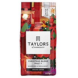 Taylors of Harrogate – Limited Edition Christmas Blend Coffee – 227g