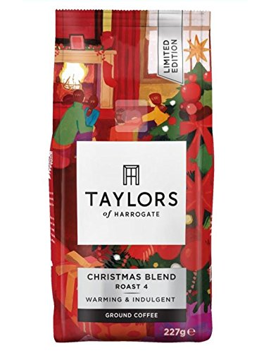 Taylors of Harrogate - Limited Edition Christmas Blend Coffee - 227g  Taylors of Harrogate – Limited Edition Christmas Blend Coffee – 227g 51A5xXY1F3L
