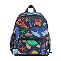 Creature Sea Childrens School Bag Kid