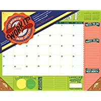 Work It! 17-month 2018 Desk Jotter