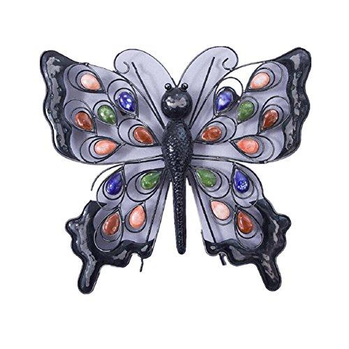 YYH Scultura in ferro Hangings della parete Wall Decor Butterfly