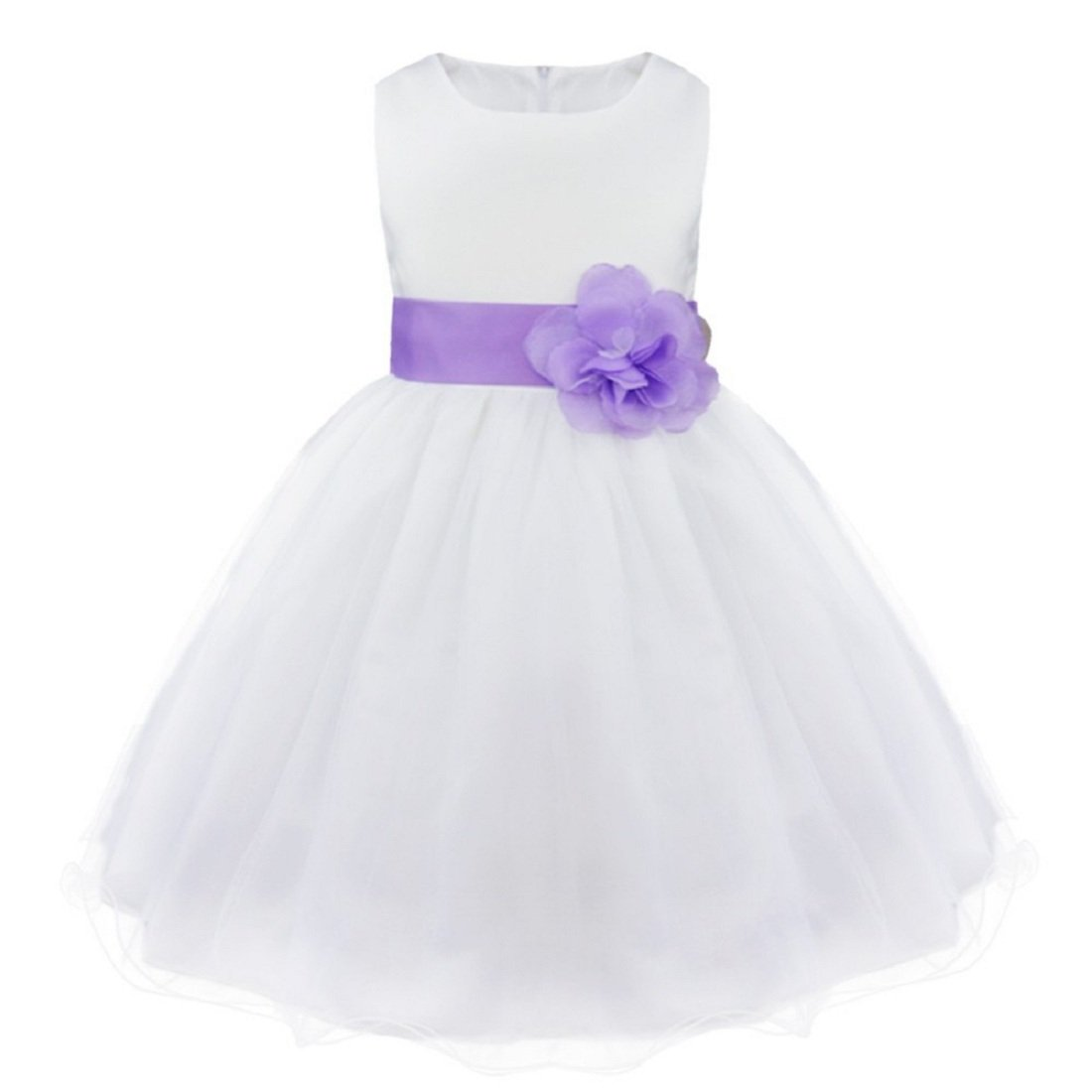 813256934eae SOFYANA Baby - Girl s Satin Princess Gown Birthday Party Wear Long ...