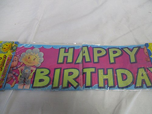 5 yard Fifi And The Flowertots Happy Birthday Banner