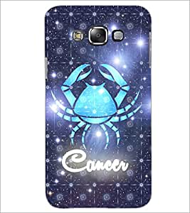 PrintDhaba Zodiac Cancer D-5767 Back Case Cover for SAMSUNG GALAXY GRAND MAX (Multi-Coloured)