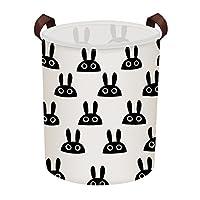 Fittolly 4 Pcs Fabric Storage Basket Organizer with Handles, Foldable Waterproof,Suit for Desktop Storage and Household Organizer 20.5x17x15cm(Whale,Polar Bear,Hedgehog,Trees) (Medium_M) (Medium XL)