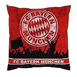 Kissen Südkurve FC Bayern München FCB + gratis Aufkleber, pillow, almohada, oreiller
