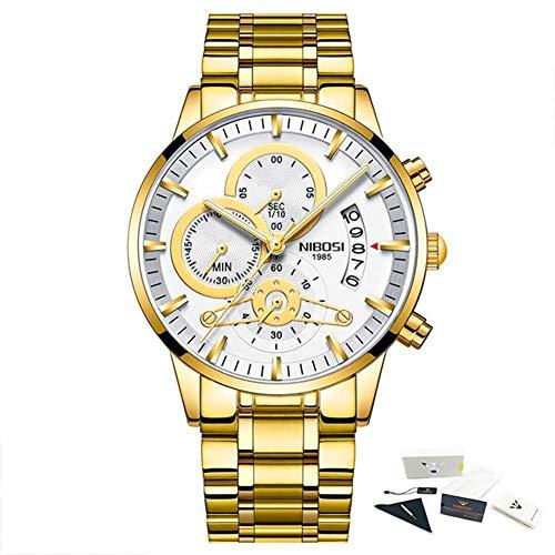 relogio Masculino sehen männer Gold bei Uhren top - Marke Luxus - Sport - Wasserdichten Uhren männlichen Uhr
