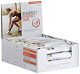 Squeezy Sports Nutrition Energy BAR, Frucht, Display mit 20 Riegeln á 50 g