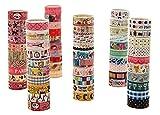 Lumanuby 20 Roll Bunt Deko Tape DIY aus Kunststoff Klebebänder Tier für Tagebuch/Buch/Album/Cup/Geschenk Geschenk für neues Semester Jede Rolle 3.0m Zufällige Farbe-Klebebänder Serie