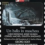Bergonzi: Un Ballo in Maschera (Audio CD)