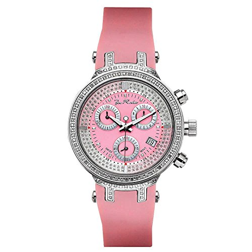 Joe Rodeo diamante orologio da donna - Master Lady Argento 0.9 ctw