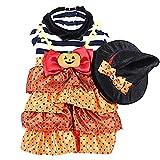 RONGXIN costume da strega Halloween serie Pet Puppy chihuahua decorazione party Halloween Natale Pasqua costume