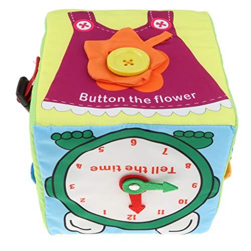 B Blesiya Juguete Montessori Infantil Cubo Vestir