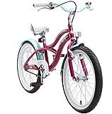 BIKESTAR Bicicleta Infantil para niños y niñas a Partir de 6 años | Bici 20 Pulgadas con Frenos | 20' Edición Cruiser Lila