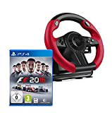 Speedlink SL-450500-BK Trailblazer Racing Wheel Gaming Lenkrad für PS4, Xbox One, PS3 + F1 2016
