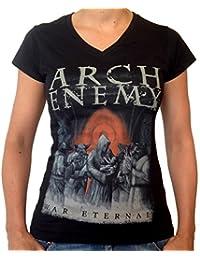 Arch Enemy, Girlie Frauen T-Shirt, War Eternal Cover