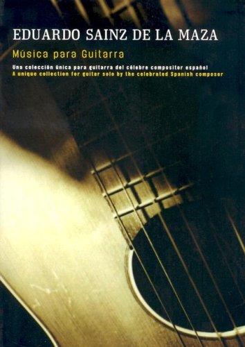 Eduardo Sainz De La Maza Musica Para Guitarra Gtr
