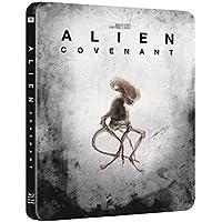 Alien Covenant 4K Ultra HD + Blu Ray Limited Edition Steelbook / Import / Region Free.