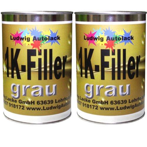 Preisvergleich Produktbild 1K Füller Grau 2 kg Grundierfüller