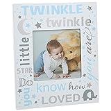Twinkle Twinkle Little Star Bilderrahmen ~ Baby Boy blau