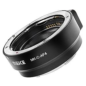 Impulsfoto Adapterring kompatibel mit Canon EF und EF-S auf EOS M - Meike MK-C-AF4