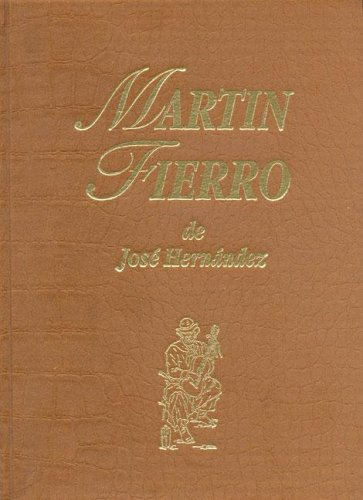 Descargar Libro Martin Fierro de Jose Hernandez