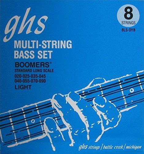 ghs 3045 8/LS DYB Boomers LSP (8-String) Regular