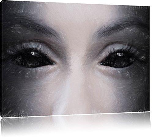 Kunst Buntstift Effekt, Format: 100x70 auf Leinwand, XXL riesige Bilder fertig gerahmt mit Keilrahmen, Kunstdruck auf Wandbild mit Rahmen, günstiger als Gemälde oder Ölbild, kein Poster oder Plakat ()