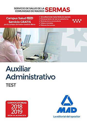 Auxiliar Administrativo del Servicio de Salud de la Comunidad de Madrid. Test