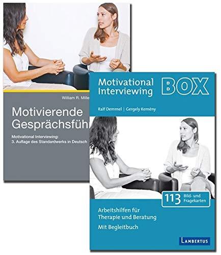 Motivierende Gesprächsführung - Set mit Buch und Arbeitshilfenkarten: Motivational Interviewing: 3. Auflage des Standardwerks in Deutsch und Arbeitshilfen für Therapie und Beratung