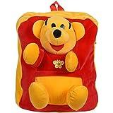 Kids School Bag Soft Plush Backpack Cartoon Toy, Children's Gifts Boy Girl/Baby/ Decor School Bag For Kids (Pooh Bag)
