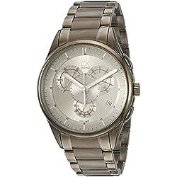 Calvin Klein Men's Quartz Watch with Black Dial Analogue Display Quartz Stainless Steel K2A27926
