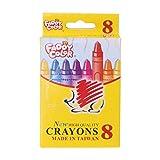 Safety Student Drawing Crayons Set de crayons de couleur pour enfant 8/12/24 couleurs 8
