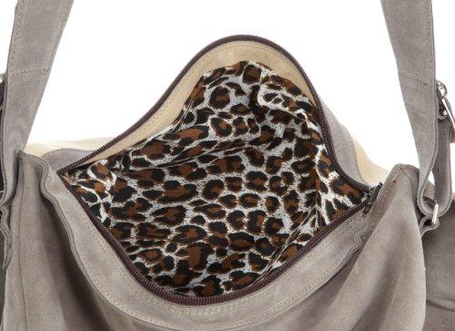 Diavolezza AQUILA M10, Borsa donna, 38 x 4 x 5 cm (L x A x P), Beige (Beige (Beige)), 38x34x5 cm (L x A x P) Beige (Beige (Beige))