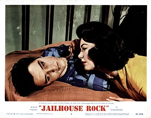 Posterazzi - Jailhouse Rock Poster Drucken (71,12 x 55,88 cm) - Jailhouse Rock Poster