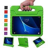 BELLESTYLE Samsung Galaxy Tab A 10.1 Zoll EVA Stoßfeste Schutzhülle Tragbar für Kinder mit Ständer Schutzhülle Standfunktion für Samsung Tab A 10.1 (SM-T580 / SM-T585) Tablet 2016 Veröffentlichung, Grün