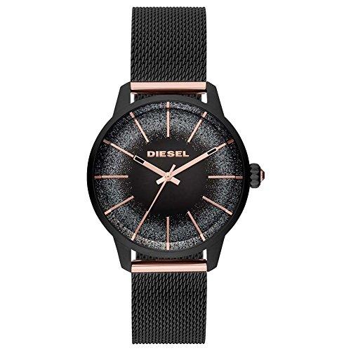 d623942f7f6e Diesel Reloj Analógico para Mujer de Cuarzo con Correa en Acero Inoxidable  DZ5577