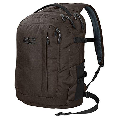 Jack Wolfskin Jack.Pot DE Luxe Notebookrucksack Daypack Rucksack, Onyx Brown, ONE Size