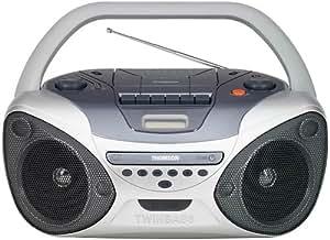 Thomson Radio CD TM9049 FM/PO/GO Lecteur cassette / CD 2 x 1,5 W