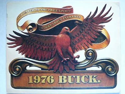 Prospekt / brochure - 1976 Buick (Book) mit Skyhawk, Skylark, Century, Riviera, Le Sabre, Estate Wagons, Electra - Original - sehr schön