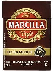 Marcilla Extra Fuerte Cápsulas De Café ...