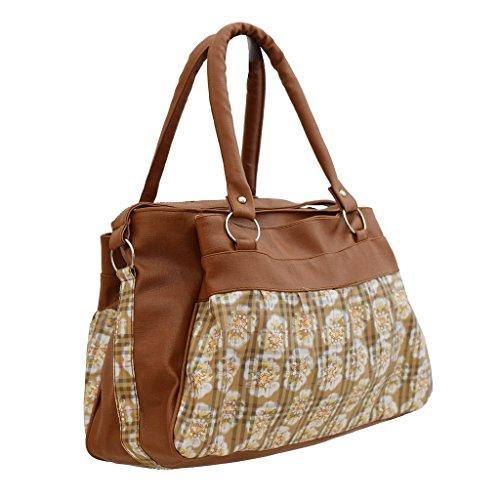 Regalovalle Women\'s Handbag (Brown ,Rv-16)
